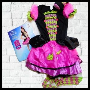 Disney Girls Mad Hatter Halloween Costume 12-14